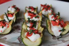 healthy canapes dinner vegan zucchini skins recipe vegan appetizer recipes the