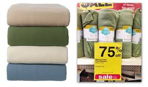 fleece throws only 0 99 at cvs 8212 no coupon needed the