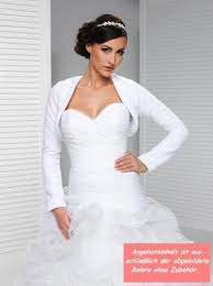 bolero f r brautkleid brautkleid accessoire fleece bolero langarm für die braut www
