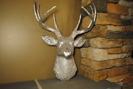 Fake Deer Head Wall Mount Home Design 1000 Images About Deer Antlers On Pinterest With