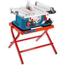 bosch gts 10 xc 254mm table saw with leg stand package deal