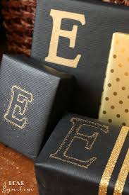 matte black wrapping paper dear emmeline december 17 sharpie metallic packaging gift wrap