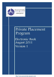 private placement program economists u0026 lawyers ebook 1 0