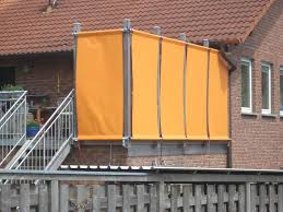 balkon jalousie modelle bespannung balkon sichtschutz plane jalousie terrasse u