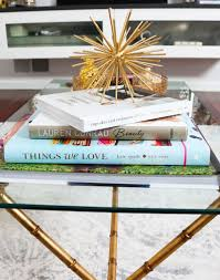 how to style a coffee table simply sabrina