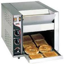Holman Conveyor Toaster Apw Wyott Bt 15 3 Bagel Master Conveyor Toaster With 3