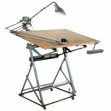 Collapsible Drafting Table Modern Drafting Tables Foter