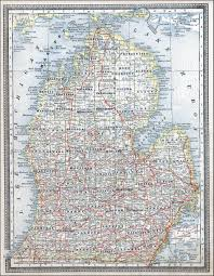 map of michigan early michigan maps