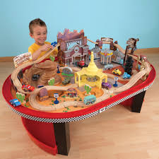 matchbox car play table costco uk kidkraft disney cars radiator springs racetrack set and