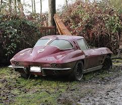 stingray corvette 1963 1963 corvette stingray sad find 1963 corvette stingray flickr