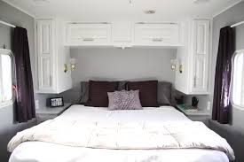 rv ideas renovations fabulous 5th wheel cer makeover mobile home living