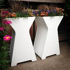 white color for unique flower pot design antiquesl com