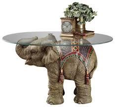 Elephant Side Table Jaipur Elephant Festival Table Asian Side Tables And End