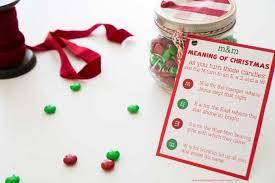 m u0026m christmas poem printable u0026 gift true meaning of christmas