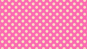 wallpaper spots dots polka yellow pink ff69b4 ffdab9 45 63px 107px