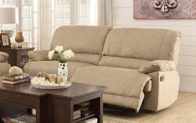 Fabric Recliner Sofa Sofas Awesome Fabric Recliners Sofa With Recliners On Each End