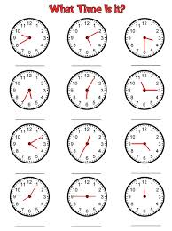 321 best óra o u0027clock images on pinterest telling time maths
