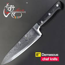 vg10 kitchen knives aliexpress buy haoye 8 inch chef knife damascus kitchen
