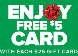 half gift cards half price books free 5 with 25 gift card purchase