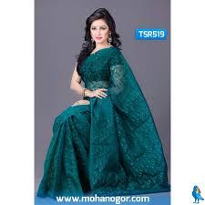 bangladeshi jamdani saree collection mohanogor shop jamdani saree online shopping tsr519