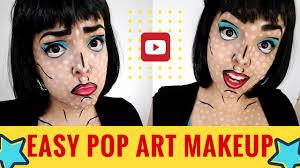 pop art halloween makeup easy u0026 affordable halloween tutorial