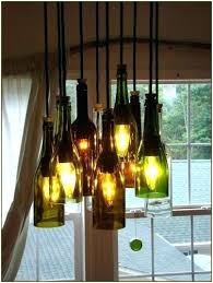 Wine Bottle Chandeliers How To Make A Glass Bottle Chandelier Wine Bottle Chandelier How