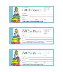 6 free printable gift certificate templates for ms