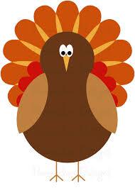 thanksgiving turkey border clip 62