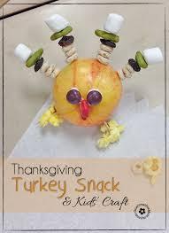 thanksgiving snack craft turkey onecreativemommy