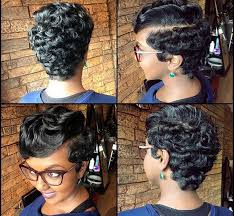 african american soft waves hair styles these pixie waves are so pretty by texasstylist salonshavon