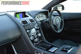 aston martin dashboard 2012 aston martin dbs carbon edition review video performancedrive