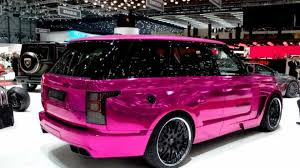 pink range rover hamann mystere based on 2013 range rover dresses in pink for
