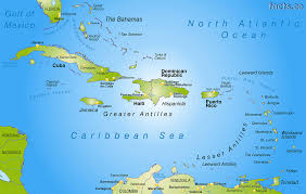 Map Of Caribbean Island by Jamaica Map With Cities Political Jamaica Map Outline