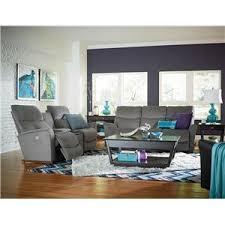 La Z Boy Living Room by La Z Boy Rowan Leather Recliner Boulevard Home Furnishings