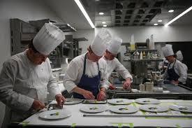 californios s f s newest 4 star restaurant exquisitely chef de cuisine david breeden bill hendrix and tyler vorce prepare food in the kitchen