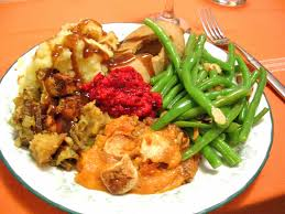 the official thanksgiving survival guide for vegan food