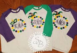 personalized mardi gras personalized mardi gras raglan mardi gras parade shirt big