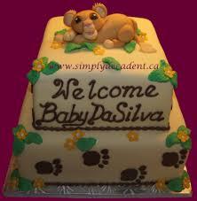 lion king baby shower cake home design