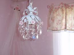 Nursery Chandelier Vintage Shabby Chic Baby Nursery Ideas