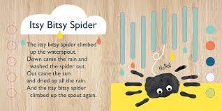 itsy bitsy spider emily bannister 9781626867642 books