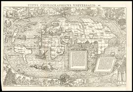 World Map Artwork by Munster U0027s Striking World Map Illustrated By Hans Holbein Maps