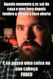 O Face Meme - esqueci o face aberto meme by waltermatheus memedroid