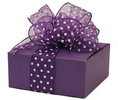 purple gift wrap read our and learn to wrap on the cheap wrapping ideas