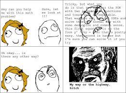 Meme Comic Funny - rage comic help with math rage comics math comics math fail