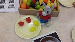 jeux de cuisine salade salade de fruits de la classe des petits grands