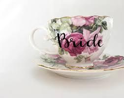 wedding tea bridal tea party etsy