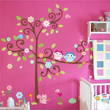 Wall Art For Kids Room by Free Shipping Owl Wall Art For Kids Room Wall Decals Zooyoo1011