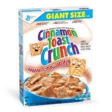 Breakfast Food Cereal Walmart Com by Cinnamon Toast Crunch Cereal 23 6 Oz Box Walmart Com