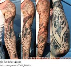 black grey sleeve dragon tattoo girls with tattoos