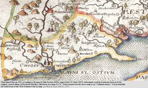 Hampshire England Map by Barton And Highcliffe History And Future Of Coast Erosion